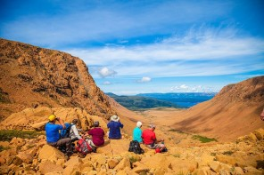 The Tablelands – walk on the earth's mantle