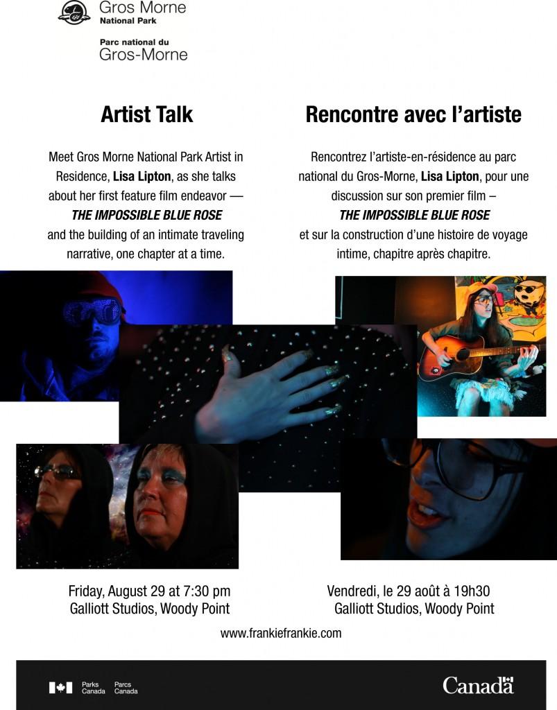 Artist Talk  - Lisa Lipton
