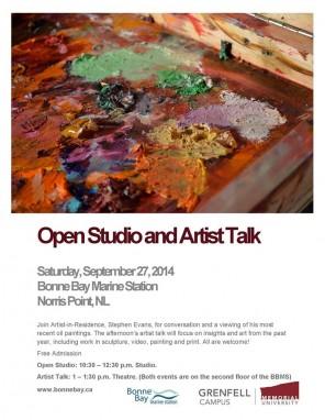 BBMS artist talk