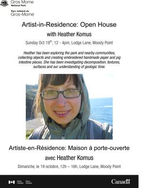 Artist Talk  Komus